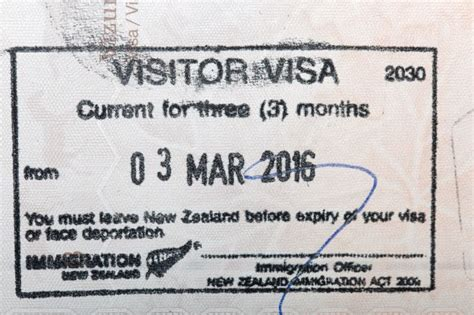New Zealand Visa Information   What you need to know