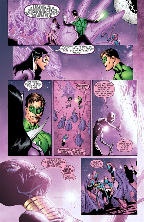 How Carol Ferris Became The Queen Of The Star Sapphires