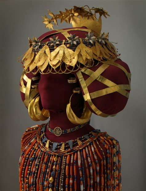 Headdress of Puabi — Institute for the Study of the