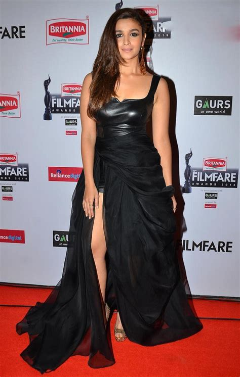 Bollywood hot babes sizzle in thigh-high slit dress | hot