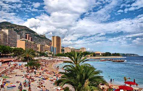 Plages du Larvotto | A view of Larvotto beach in