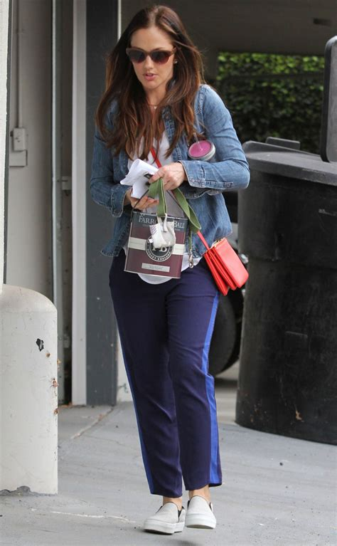MINKA KELLY Out and About in Los Angeles – HawtCelebs