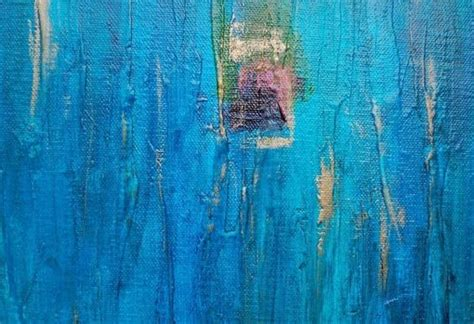 Custom Made Peacock Original Abstract Painting Large 18