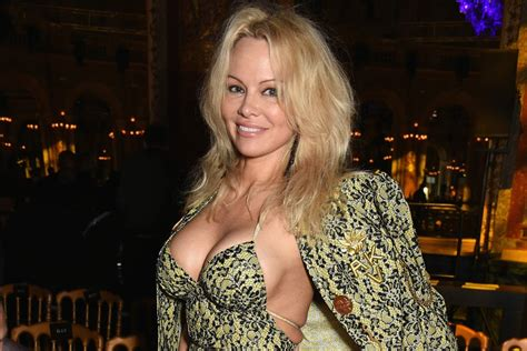 Pamela Anderson writes poem about 'special relationship