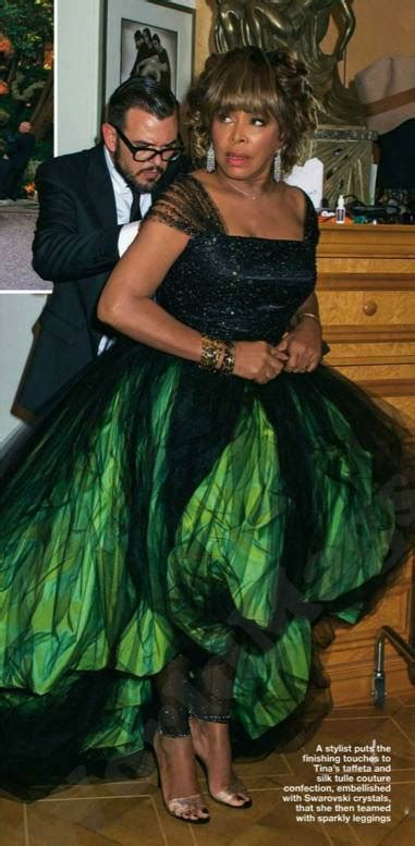 Tina Turner Marries Erwin Bach in Green Wedding Gown