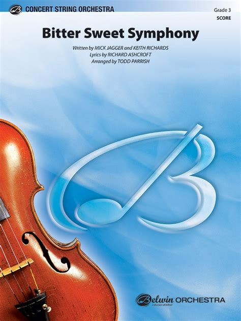 Bitter Sweet Symphony: String Orchestra Conductor Score