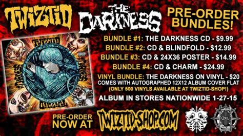 """Twiztid's """"The Darkness"""" Available For Pre-Order; Twiztid"""