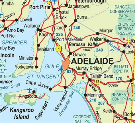 Adelaide Map • Map of Adelaide • we love Adelaide's