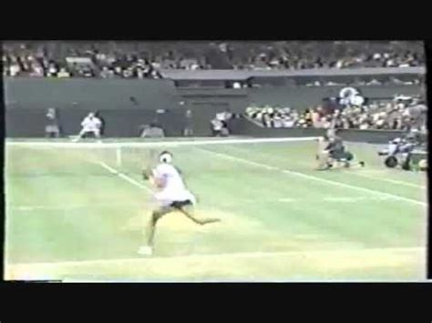 Footage of Monica Seles before the stabbing - YouTube