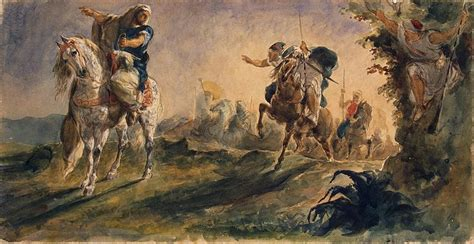 Arab Riders on Scouting Mission - Eugene Delacroix