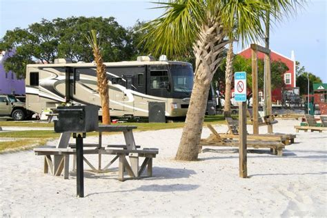 Perdido Cove RV Resort is located on the Intracoastal