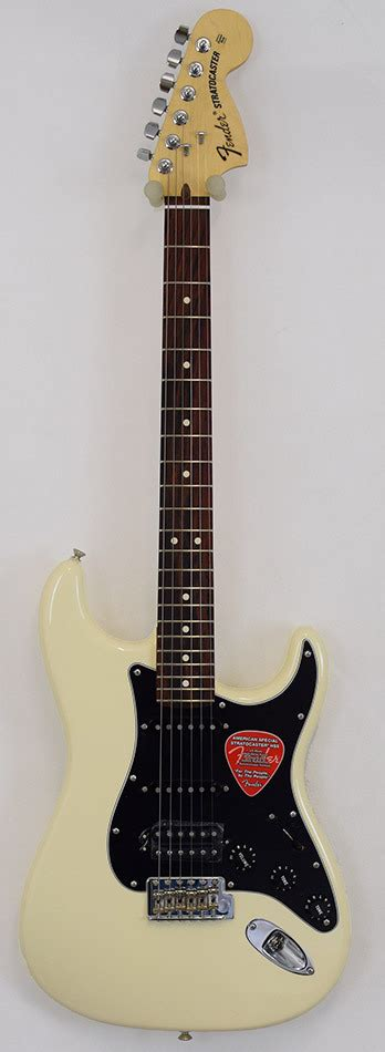 Fender Stratocaster American Spec HSS OWH B-WARE - station
