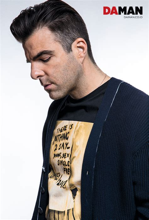Actor Zachary Quinto stars on DAMAN June-July 2018 Issue