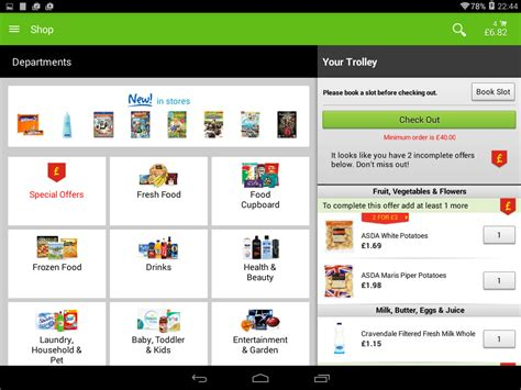 ASDA APK Free Shopping Android App download - Appraw