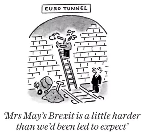Cartoon: Mrs May's Brexit - The English Blog