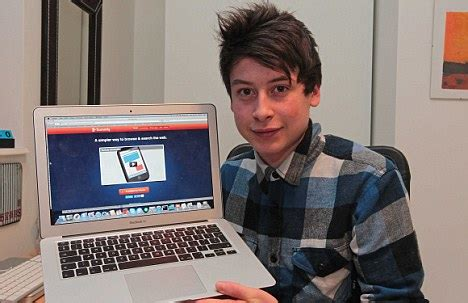 Welcome to Sod's Blog: Teenage Inventor, Nick D'Aloisio