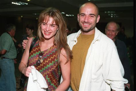 Andre Agassi 'was so angry at ex-girlfriend's flirting he