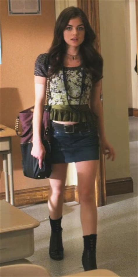 Aria Montgomery style: Can You Hear Me Now?
