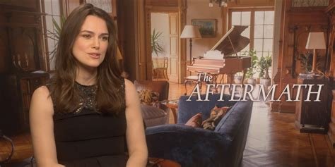 Keira Knightley on The Aftermath, her leading men, & her