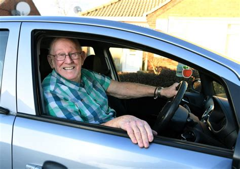 79-Year-Old Man Learns To Drive So He Can Chauffeur Wife
