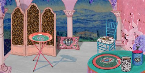 Presenting Gucci Décor, a collection of furniture and