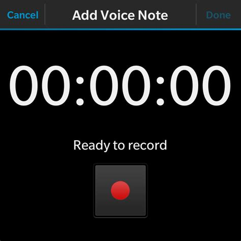 How I Use Remember App On Blackberry 10 To Record Voice