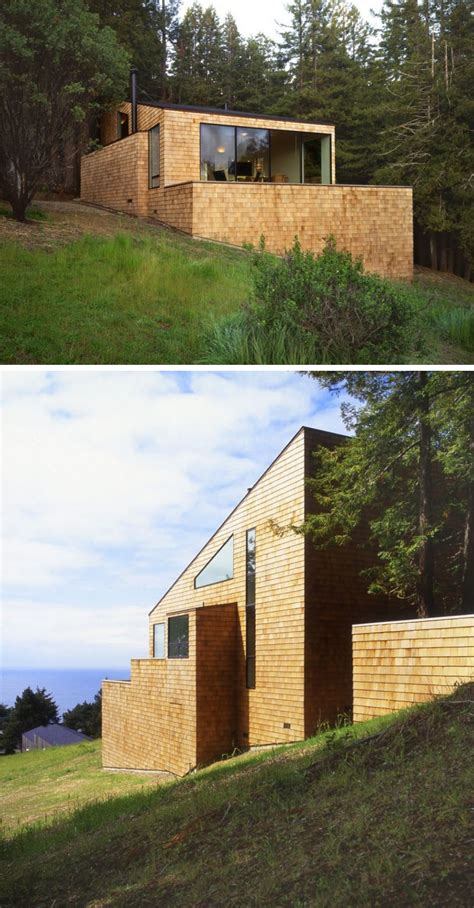 13 Examples Of Modern Houses With Wooden Shingles