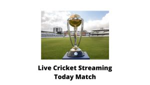Live Cricket Streaming Online Today Match 2020