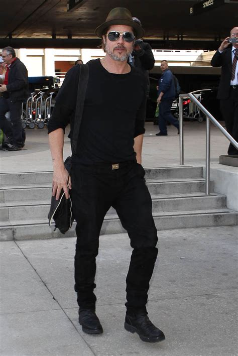 Brad Pitt at LAX will produce new HBO series with Edward