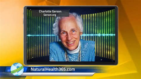 Charlotte Gerson, juicing and healing cancer - YouTube