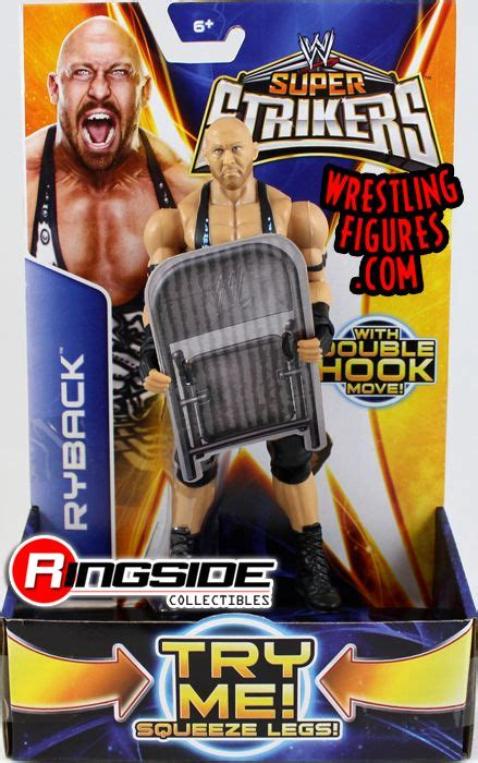Ryback - WWE Super Strikers | Ringside Collectibles