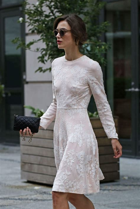 Keira Knightley - Leaving Crosby Hotel on Her Way to NBC