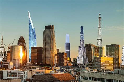 Revealed: How London's skyline would have looked with