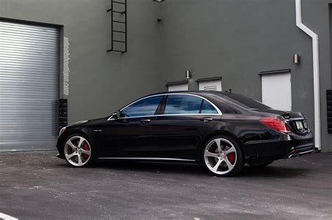"""Mercedes-AMG W222 S63 on 22"""" HRE RS102M Wheels 