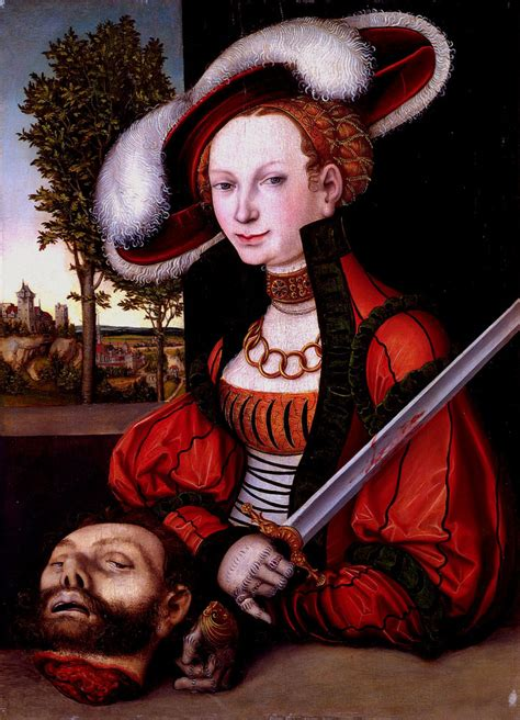 Lucas Cranach the Elder: Judith with the Head of Holofernes
