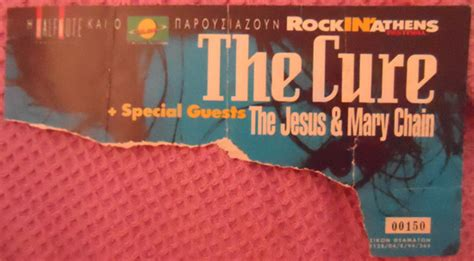 The Cure live concert: 06