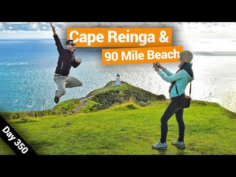 Cape Reinga, surprisingly, is not the northerly most point