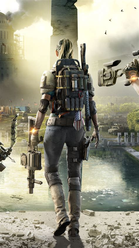 Wallpaper The Division 2, E3 2018, Tom Clancy's, 2019