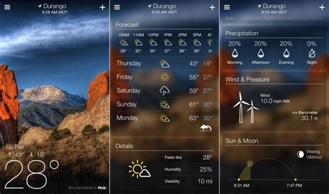 Yahoo Launches Standalone iPhone Weather App, Brings