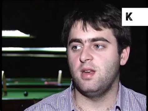 Rare 1996 Interview With Young Ronnie O'Sullivan, Snooker