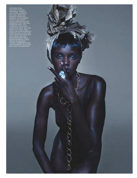 VOGUE UK: Duckie Thot by Nick Knight | Image Amplified