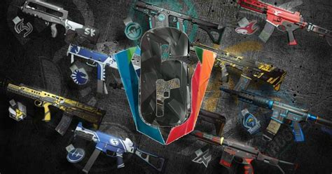 Rainbow Six Esports Skins Announced - Images and Info