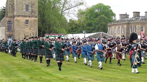 Scotland the Brave by the Massed pipes & drums during