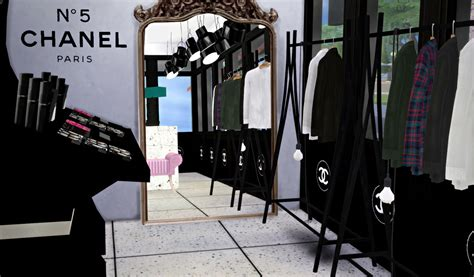 Sims 4 CC's - The Best: Chanel Shop by Blackmojitos