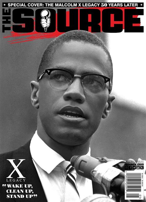 The Source Commemorates Malcolm X With Special Edition