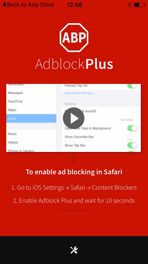 Adblock Plus and (a little) more: Adblock Plus for iOS is