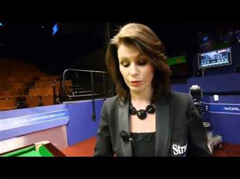 Michaela Tabb _ Professional Snooker Referee _ Behind The