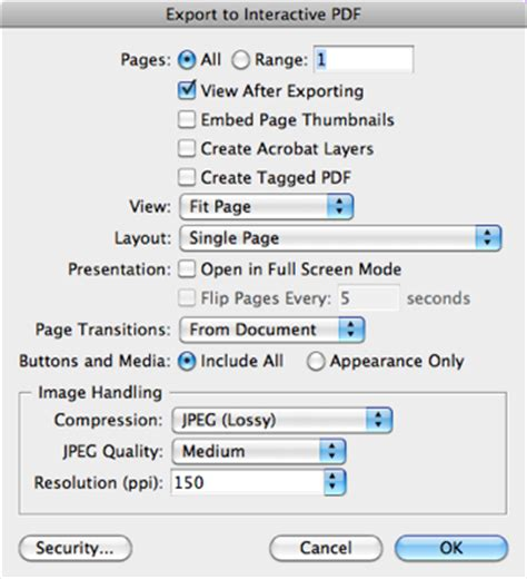 Interactive PDF from InDesign CS5 Always Has Spreads On