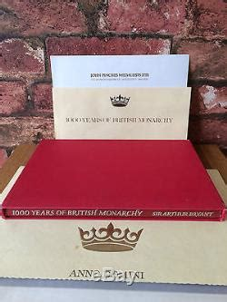 50 Silver Proof Ingots 1000 Years Of British Monarchy