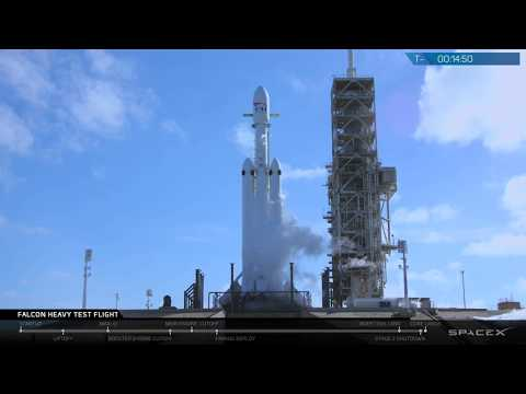 Seeing SpaceX's Falcon Heavy rocket take off for the first